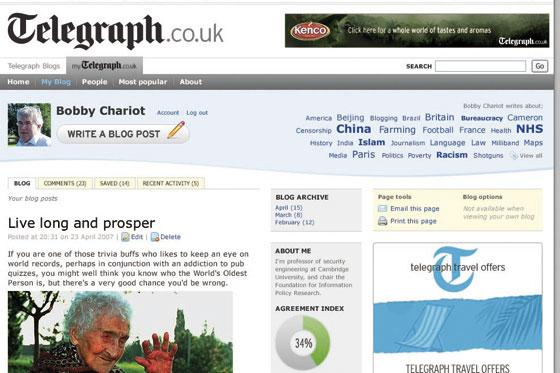 Telegraph appoints head for new technology unit
