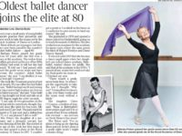 The Times accused of 'byline banditry' over freelance news story syndicated from the Daily Mail about 'oldest ballet dancer'