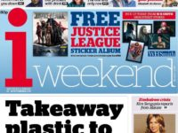 Saturday now 'strongest' day for i paper as newstrade sales up 2.6 per cent on last year following iweekend relaunch