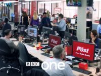 Watch first trailer for new BBC One drama Press about rival newspapers