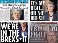 'We're in the Brexs*it': Pro-Brexit papers divided over Theresa May deal