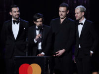 Brit Awards 'Best British Group' The 1975 namechecks Guardian journalist in speech about music industry misogyny