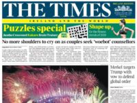 Times proposes closure of Ireland edition with potential loss of almost 20 jobs