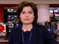 BBC newsreader returns to screens after six months away for breast cancer treatment