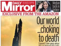 Mirror first tabloid to back project boosting 'climate crisis' reportage