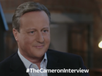 ITV's David Cameron interview watched by average of 3m viewers