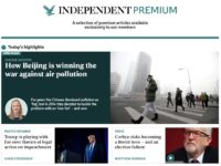 Independent rebrands content behind paywall as 'premium'