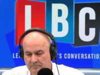 LBC's Iain Dale keeps 'black book' of banned guests and says Nigel Farage is 'very good broadcaster'