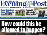 Yorkshire Evening Post says story of boy on hospital floor 'in no way staged' in face of online claims