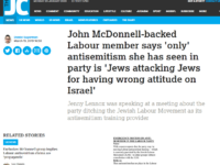 Jewish Chronicle wrongly identified Labour member as Jewish, IPSO rules