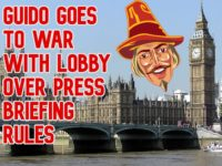 Guido Fawkes takes on Lobby 'cartel' with live tweets in defiance of 'quaint rules' on briefings