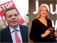 Arron Banks drops part of libel case against Observer's Carole Cadwalladr