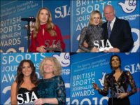 Double honours for Guardian's Marina Hyde as female winners make history at sports journalism awards